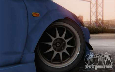 Honda Integra para GTA San Andreas vista posterior izquierda