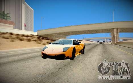 ENBSeries débil para PC para GTA San Andreas sucesivamente de pantalla