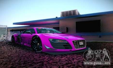 Audi R8 LMS Ultra v1.0.0 para GTA San Andreas left