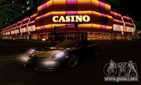 ENBSeries Exflection para GTA San Andreas décimo de pantalla