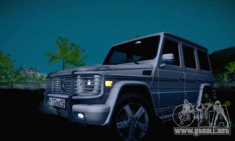 Mercedes-Benz G500 para GTA San Andreas