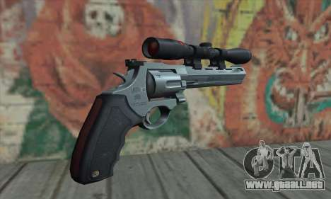 44.M Raging Bull with Scope para GTA San Andreas segunda pantalla