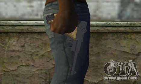 LugerP08 para GTA San Andreas tercera pantalla