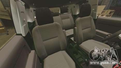 Toyota FJ Cruiser 2012 para GTA 4 vista interior