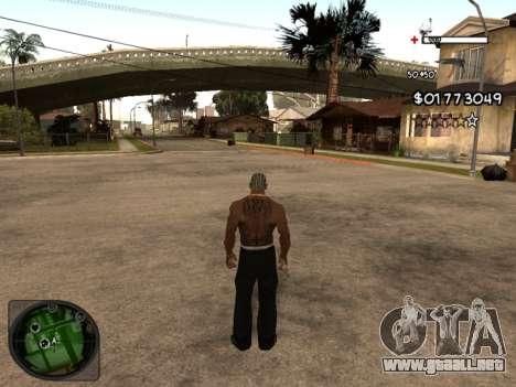C-HUD by Azov para GTA San Andreas segunda pantalla