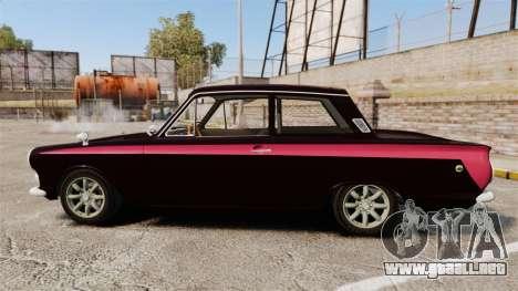 Lotus Cortina 1963 para GTA 4 left