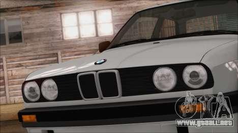 BMW M5 E30 para GTA San Andreas vista hacia atrás