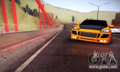 Porsche Cayenne para vista lateral GTA San Andreas