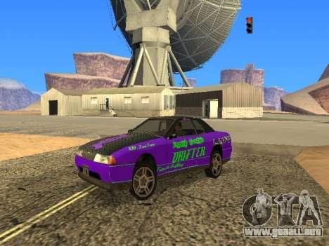 Equipo de Luni vinilos para Elegy para GTA San Andreas left