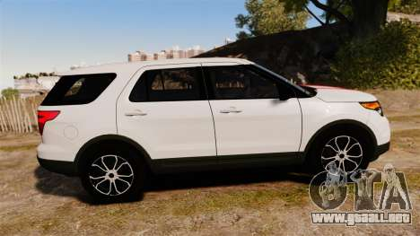 Ford Explorer Sport 2014 para GTA 4 left