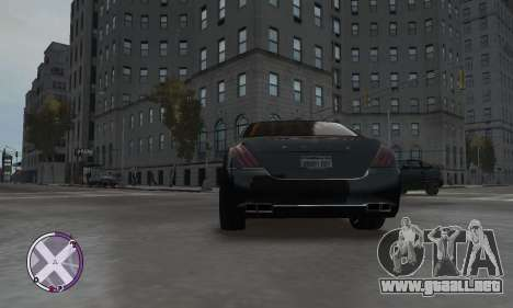 Enus Cognoscenti para GTA 4 Vista posterior izquierda