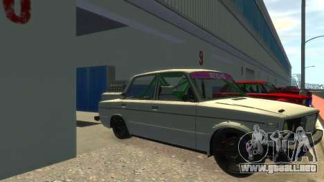 VAZ 2106 para GTA 4 visión correcta