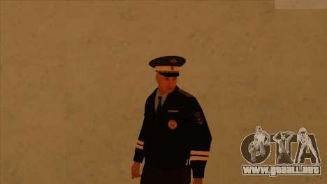 Pieles de la policía y el ejército para GTA San Andreas sucesivamente de pantalla