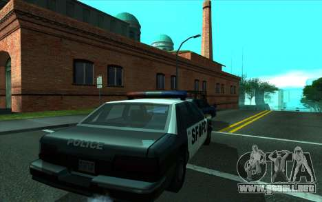 Cleaning bugs developers ENBseries para GTA San Andreas segunda pantalla