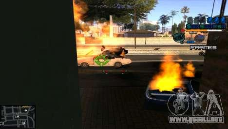 C-Hud Niko para GTA San Andreas tercera pantalla