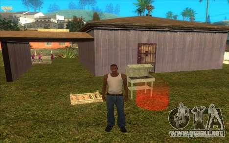 Barbecue para GTA San Andreas segunda pantalla