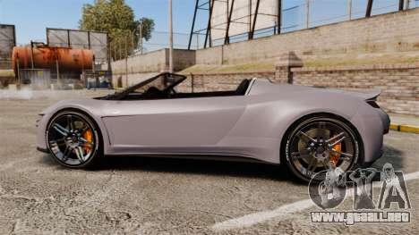 GTA V Dinka Jester Rodster para GTA 4 left