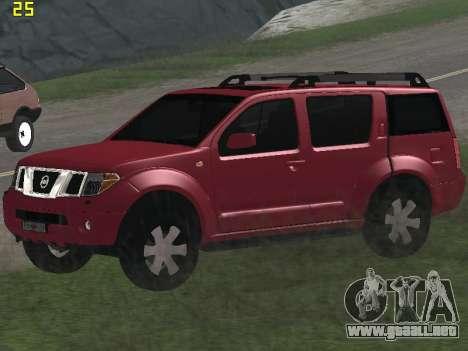 Nissan Pathfinder para visión interna GTA San Andreas