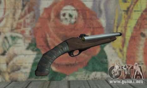 Escopeta recortada para GTA San Andreas segunda pantalla