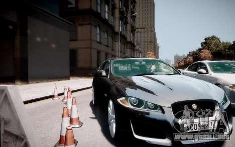 Jaguar XF-R 2012 v1.2 para GTA 4 visión correcta