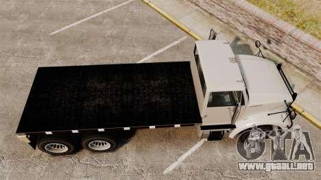 Benson Heavy para GTA 4 visión correcta