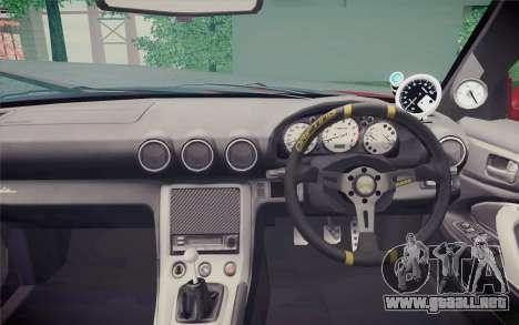 Nissan Silvia S15 BN Sports para la visión correcta GTA San Andreas