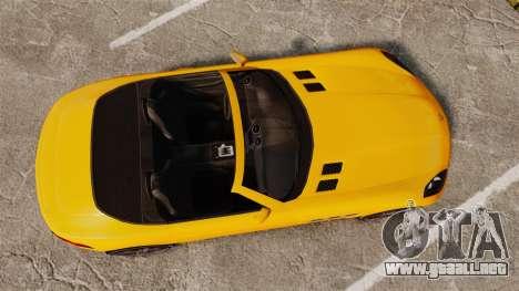 GTA V Benefactor Surano para GTA 4 visión correcta