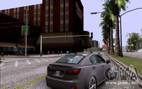 ENB HD CUDA 2014 v1.0 para GTA San Andreas segunda pantalla
