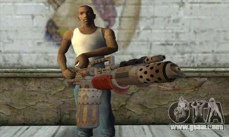 Lanzallamas para GTA San Andreas tercera pantalla