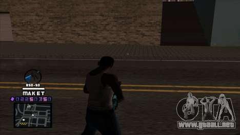 C-HUD Maket para GTA San Andreas segunda pantalla