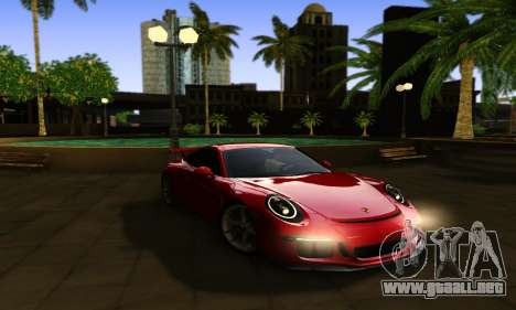 ENBSeries Exflection para GTA San Andreas tercera pantalla