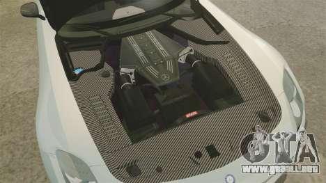 Mercedes-Benz SLS 2014 AMG Black Series para GTA 4 vista interior