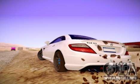 Mercedes Benz SLK55 AMG 2011 para la visión correcta GTA San Andreas