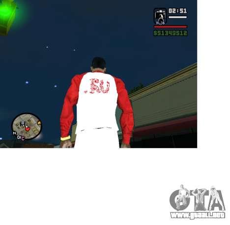 Forma olímpica Rusia para GTA San Andreas segunda pantalla