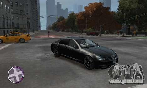 Enus Cognoscenti para GTA 4 vista hacia atrás