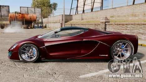 GTA V Grotti Turismo R v2.0 para GTA 4 left