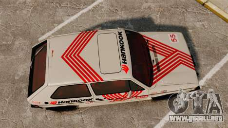 Volkswagen Rabbit GTI 1984 para GTA 4 visión correcta