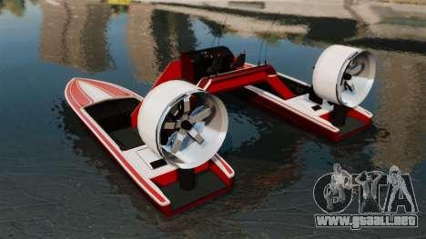 Catamarán-Jetmax Aero- para GTA 4 Vista posterior izquierda