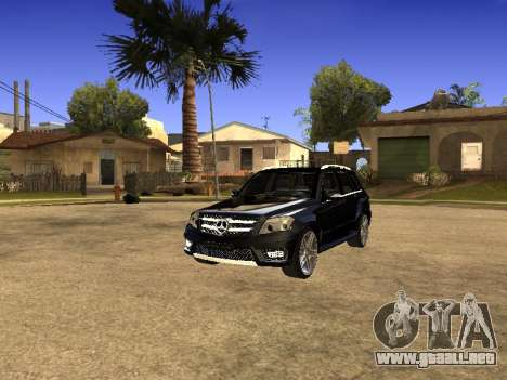 Mercedes-Benz GLK para la visión correcta GTA San Andreas