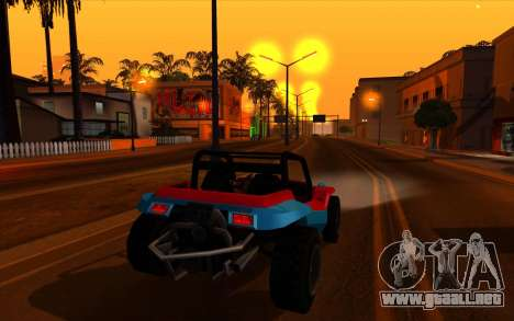 Cleaning bugs developers ENBseries para GTA San Andreas sucesivamente de pantalla