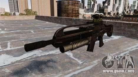 Fusil automático cicatriz para GTA 4