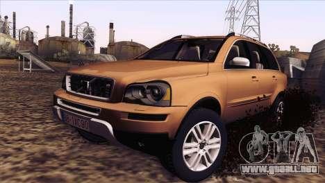 Volvo XC90 2009 para GTA San Andreas left