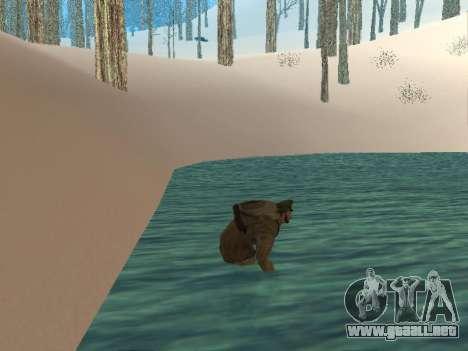 Mochila 2.0 para GTA San Andreas sucesivamente de pantalla