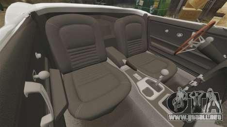 Chevrolet Corvette Stingray para GTA 4 vista interior