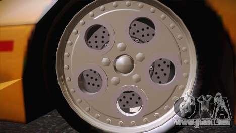 Lamborghini Diablo Stretch para la visión correcta GTA San Andreas