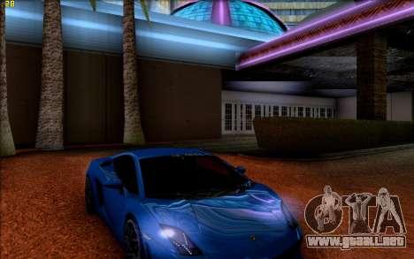 ENB HD CUDA 2014 v1.0 para GTA San Andreas tercera pantalla