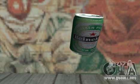 Heineken Grenade para GTA San Andreas segunda pantalla