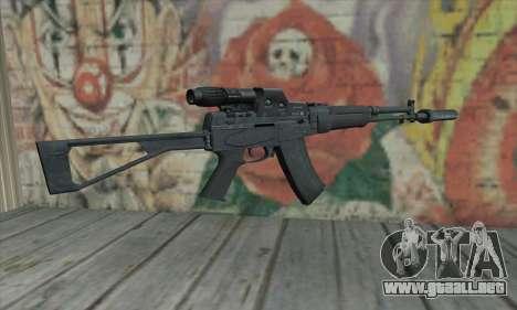 Aek-971 para GTA San Andreas segunda pantalla