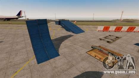 Truco-estacionar en el aeropuerto para GTA 4 tercera pantalla