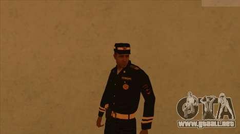 Pieles de la policía y el ejército para GTA San Andreas quinta pantalla